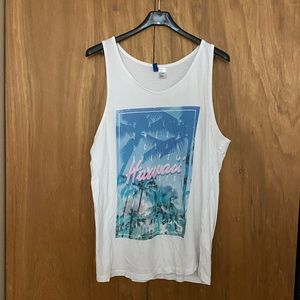 H&M male tank tops size S - mildly worn